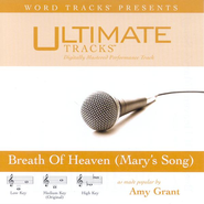 Breath Of Heaven [Mary's Song] - Medium key performance track w/o background vocals  [Music Download] -     By: Amy Grant