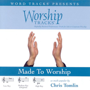 Made To Worship - Medium key performance track w/ background vocals  [Music Download] -