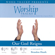 Our God Reigns - High key performance track w/ background vocals  [Music Download] -