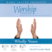Wholly Yours - Medium key performance track w/o background vocals  [Music Download] -