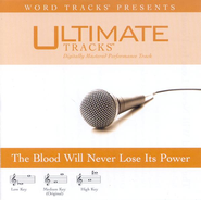 The Blood Will Never Lose Its Power - High key performance track w/o background vocals  [Music Download] -