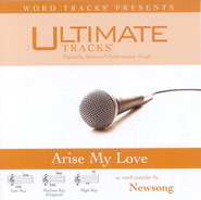 Arise My Love - High key performance track w/ background vocals  [Music Download] -     By: NewSong
