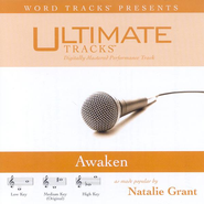 Awaken - Medium key performance track w/o background vocals  [Music Download] -     By: Natalie Grant