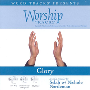 Glory - Medium key performance track w/o background vocals  [Music Download] -