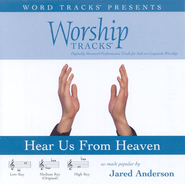 Hear Us From Heaven - Low key performance track w/o background vocals  [Music Download] -