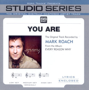 You Are - Low Key w/o Background Vocals  [Music Download] -     By: Mark Schultz