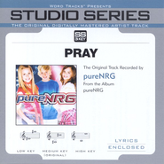Pray - Original Key w/ Background Vocals  [Music Download] -     By: pureNRG