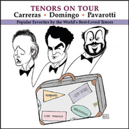 Tenors on Tour  [Music Download] -     By: Richard Tucker, Placido Domingo