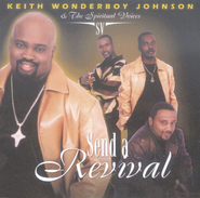 God Is Real  [Music Download] -     By: Keith Wonderboy Johnson, The Spiritual Voices