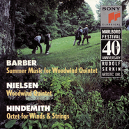 Chamber Music of Barber, Nielsen & Hindemith  [Music Download] -     By: Various Artists