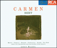 Carmen - Opera in three Acts: Carmen - Opera in three Acts/Act III/Je suis Escamillo  [Music Download] -     By: Lorin Maazel