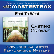 East To West (Medium without background vocals)  [Music Download] -     By: Casting Crowns