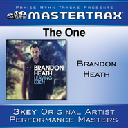 The One (Low Without Background Vocals)  [Music Download] -     By: Brandon Heath