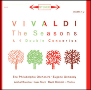 Vivaldi: The Four Seasons, Op. 8; Double Concertos RV 514, RV 517, RV 509 & RV 512 - Sony Classical Originals  [Music Download] -     By: Anshel Brusilow, Eugene Ormandy & The Philadelphia Orchestra, Isaac Stern