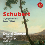 Schubert: Symphonies Nos. 3 & 4  [Music Download] -     By: David Zinman