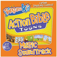 Joshua Fought The Battle Of Jericho - Split Track (Action Bible Toons Music Album Version)  [Music Download] -     By: Thingamakid
