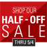 Half-Off Sale
