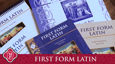First Form Latin Program