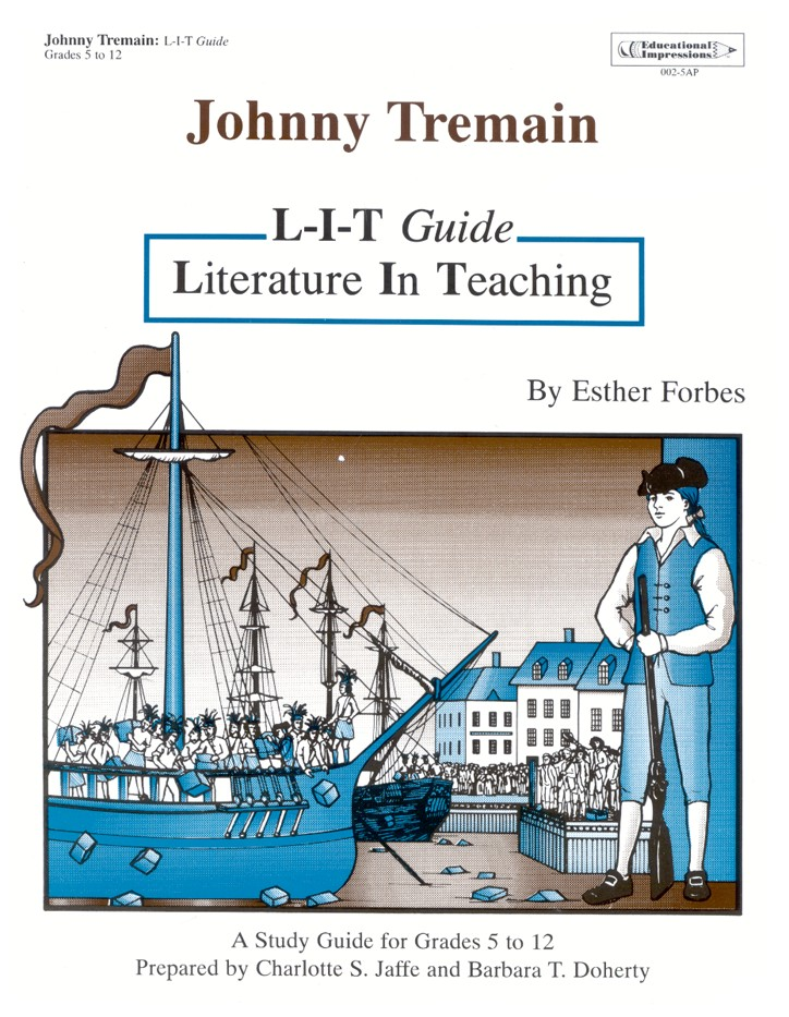 Johnny tremain l i t study guide 9781566440028 christianbook fandeluxe Image collections