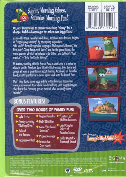 Lyle, The Kindly Viking, VeggieTales DVD