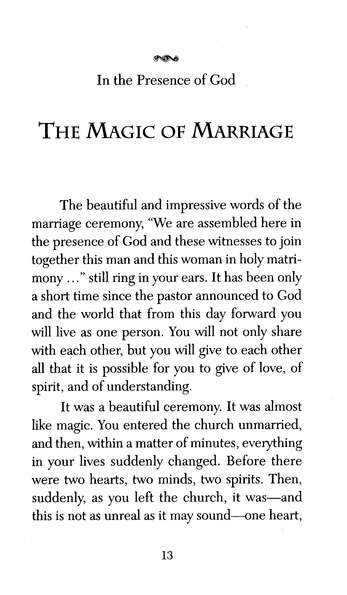 In the Presence of God: Devotions for the Newly Married