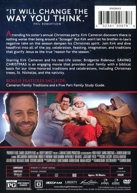 Saving Christmas.Saving Christmas Dvd