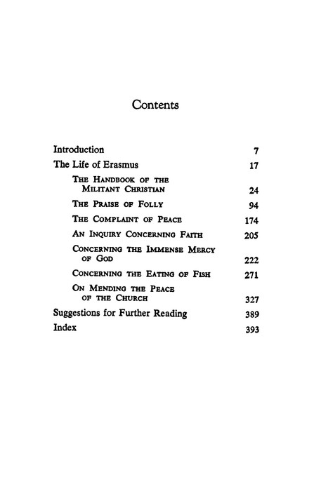 Essential Erasmus Edited By John P Dolan By Desiderius Erasmus