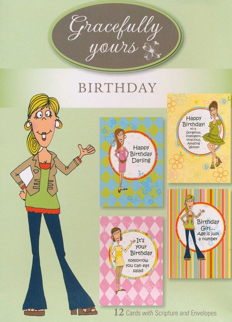 Girlfriends Cards, Box of 12