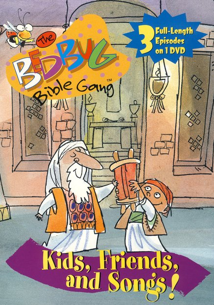 The Bedbug Bible Gang: Kids, Friends, and Songs! DVD