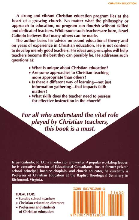 The Craft of Christian Teaching: Essentials for Essentials for Becoming a Very Good Teacher