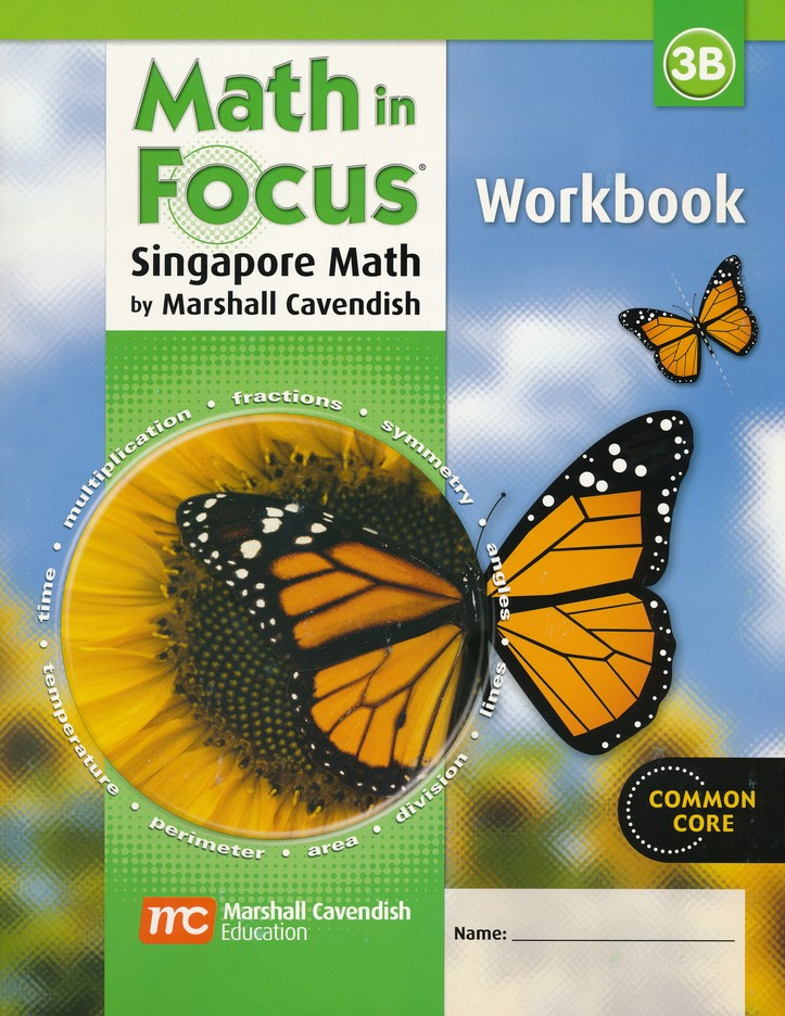 Math in Focus: The Singapore Approach Grade 3 Student Workbook B
