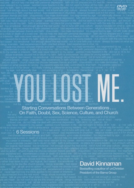 You Lost Me: Why Young Christians Are Leaving Church . . . and Rethinking Faith--DVD