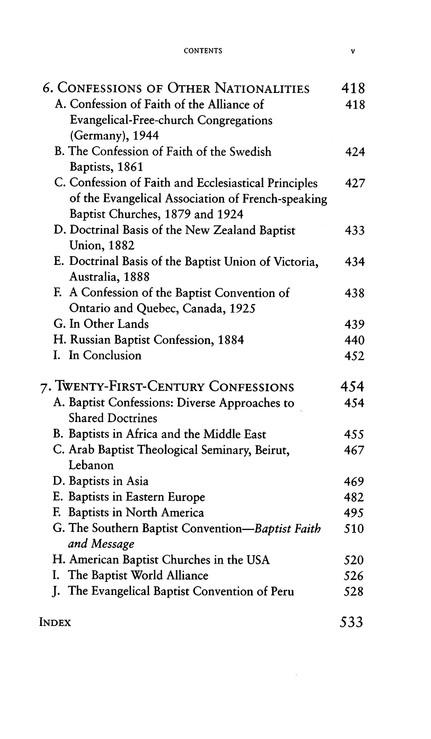 Baptist Confessions Of Faith Revised Edition William J Lumpkin
