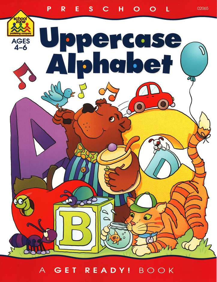 General Learning-Uppercase Alphabet, Preschool Get Ready Workbooks