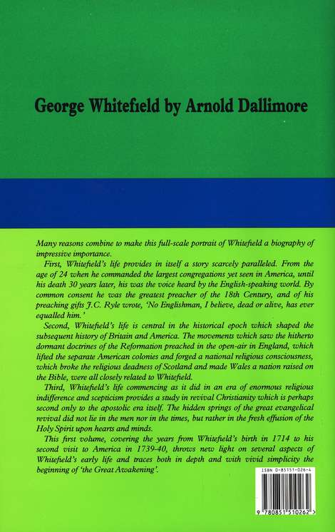 The Life of George Whitefield, Volume 1