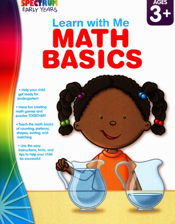 Spectrum Early Years Learn with Me Math Basics
