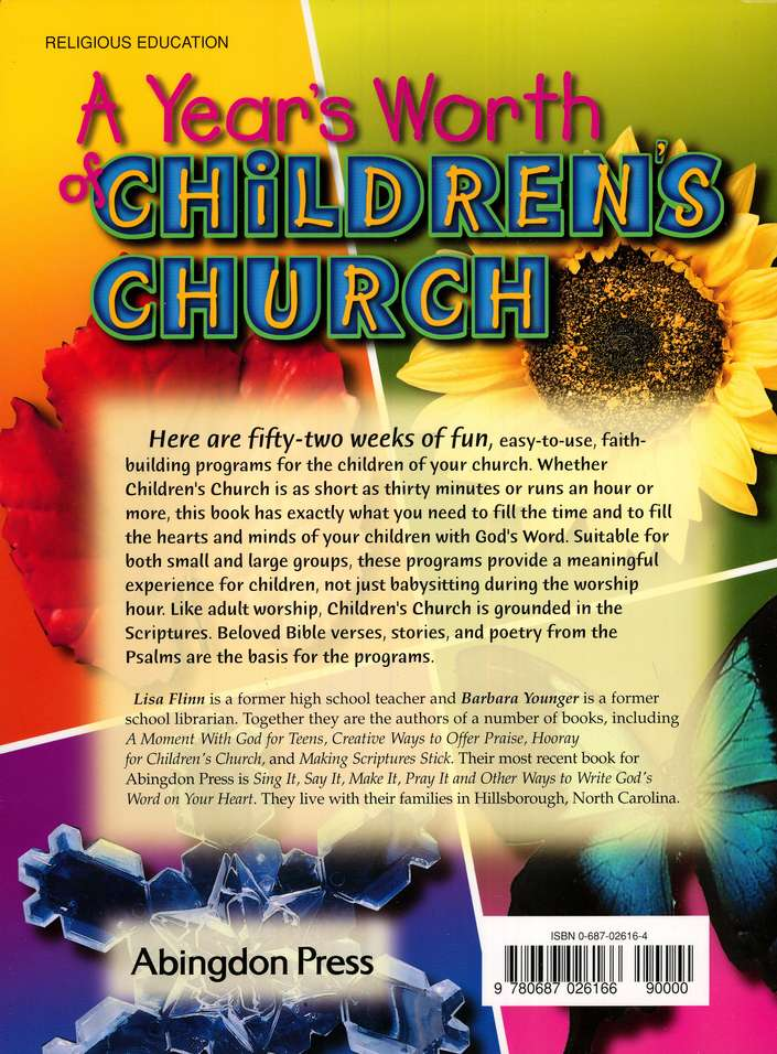 A Year's Worth of Children's Church