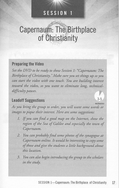 Jesus, Man, Messiah, Or More?, DVD with Leader's Guide