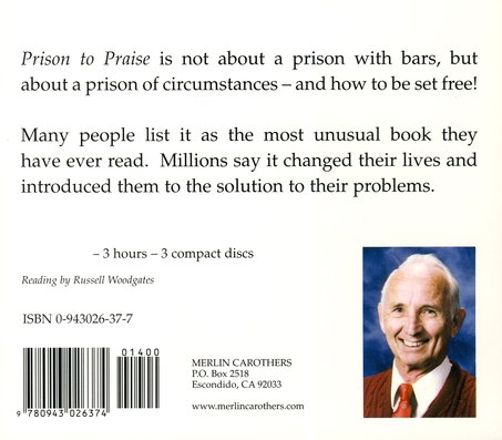 Prison to Praise Audiobook on CD