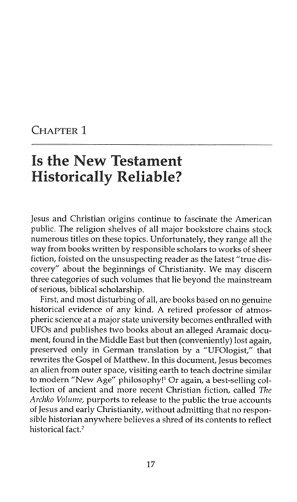 Making Sense of the New Testament