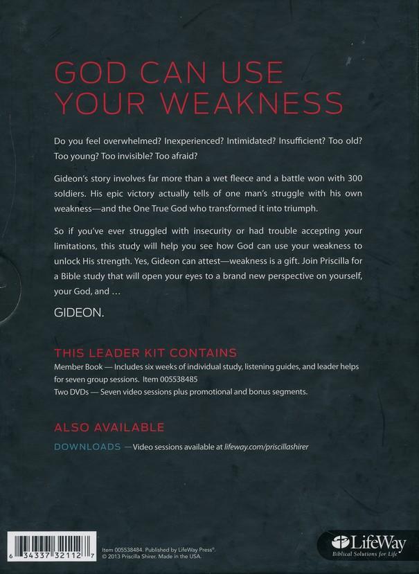 Shirer gideon viewer guide ebook array gideon your weakness god u0027s strength dvd leader kit priscilla rh christianbook com fandeluxe Image collections