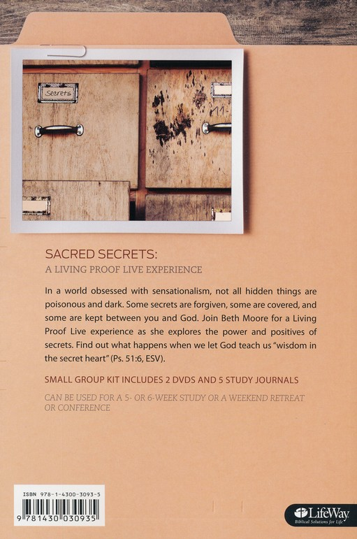 Sacred Secrets Study Journal
