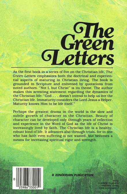 Green Letters, The