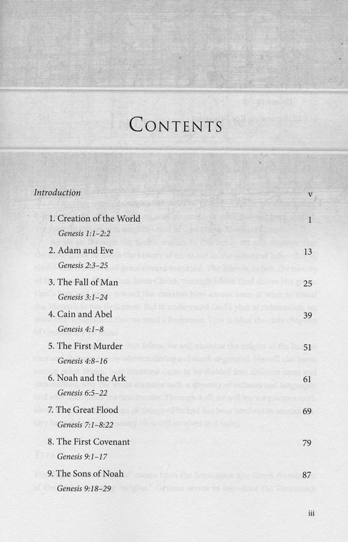 Genesis 1-11, MacArthur Bible Studies