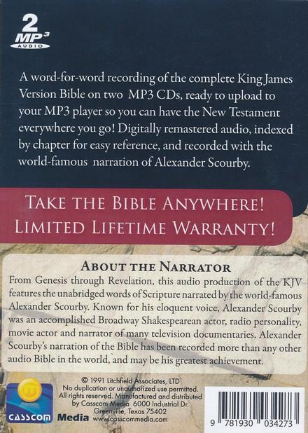 KJV Complete Bible-audio on MP3