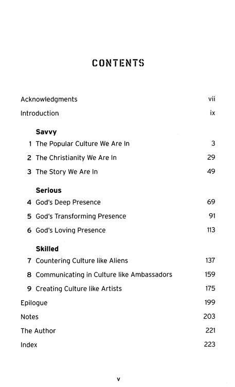 Culturally Savvy Christian: A Manifesto for Deepening Faith and Enriching Popular culture in an Age of Christianity-Lite