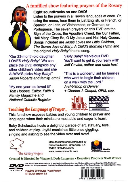 Holy Baby! Volume 1: Prayers in Seven Languages DVD