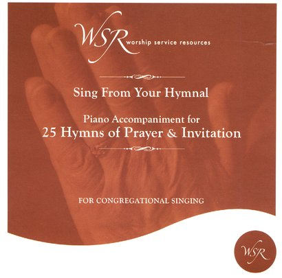 25 Hymns of Prayer and Invitation, Acc CD