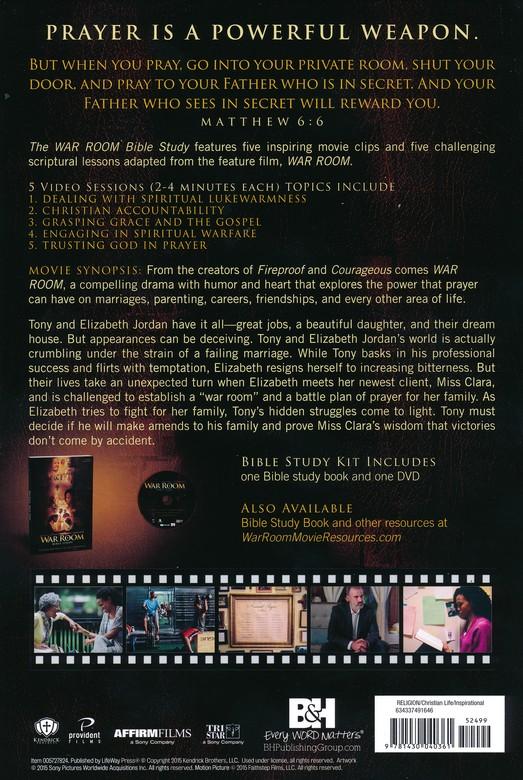 War Room Bible Study Guide & DVD