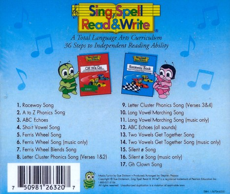 sing spell read and write short vowel song